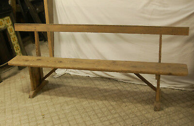 LOVELY GEORGIAN PINE BENCH - 2 AVAILABLE- SOLD SEPERATLEY RUSTIC ref 831