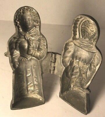 ATQ Cast Iron Medieval Woman ? Form ? Figurine Mold ? from S & Co