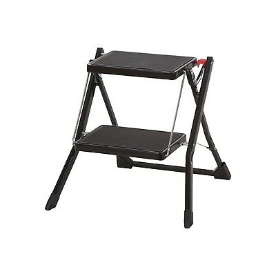 Compact 2 Step Black 22082 Step Stool