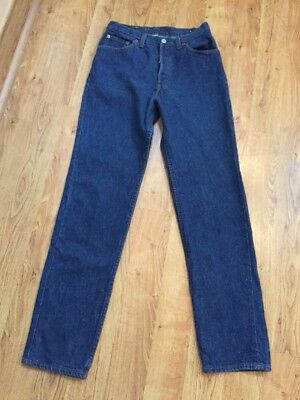 Levi's Women's VINTAGE 80's High Rise Button Fly Dark Wash 501 Jeans Sz 28/31