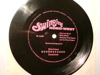 "5"" Flexi Single Orchester Wolf Gabbe und Die Rosy Singers Swinging Nord-West"