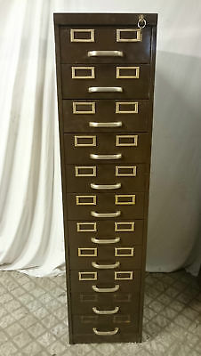 A RECLAIMED METAL FILING CABINET INDUSTRIAL STYLE ref 830