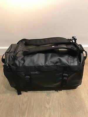 The North Face Base Camp Duffle Bag - Small - Black - excellent condition