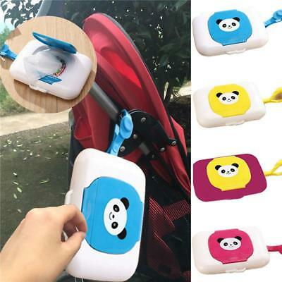 Baby Storage Holder Travel Wipe Case Changing Dispenser Child Wet Wipes Box J