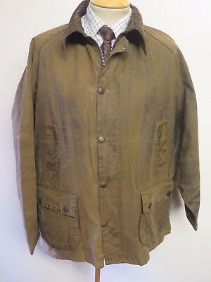 """Barbour A335 Classic Bedale Waxed jacket - L 46"""" Euro 56 in Brown"""