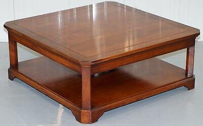 Antique furniture cherry wood coffee table john e coyle for John e coyle dining room furniture