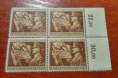 Germany Third Reich 1944 11th anniversary of Nazi rule Hitler`s regime  MNH **
