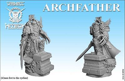 HiTech Miniatures ArchFather (28mm) | Golden Guard | Sci-Fi Tabletop