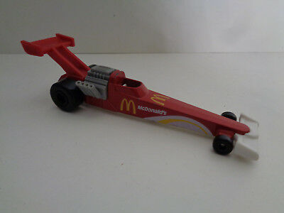 Dragster Werbemodell Mc Donald's  HOT WHEELS Mattel 1993