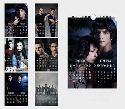 Teen Wolf 2019 Calendar 3 LOT WOLF 2019 CALENDAR BOOKMARK Wolves Howling Dingo Dog