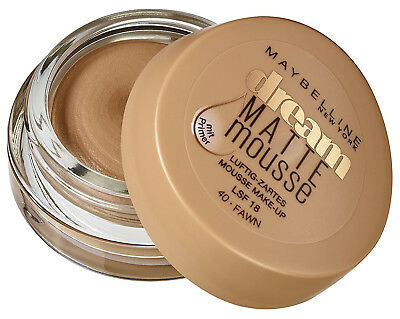 Maybelline Dream Matte Mousse MakeUp 040 Fawn 18ml Mattierend Optimale Deckkraft