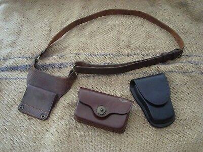 Vintage US Military WW2 Korea Vietnam Shoulder Lanyard and Pouches