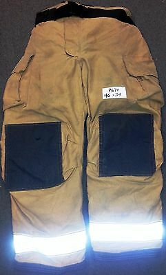 46x34 Pants  Trousers Firefighter Turnout Bunker Fire Gear Globe Gxtreme P671