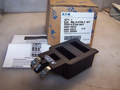 New Eaton Acme 480 Vac Size 3 Motor Starter Coil 9-2756-3