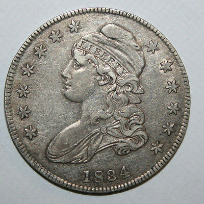 1827 Capped Bust Silver Half Z1