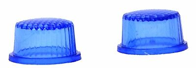 """bumper guide top(2) grid top blue plastic fits 1"""" threaded pipe replacement"""