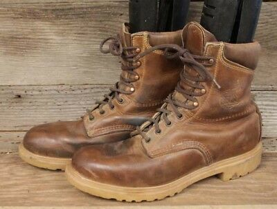 Red Wing Mens Insulated Vintage Heritage Made In Usa Hiking Mountain Boots Sz 10