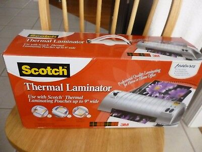 "Scotch Thermal Laminator  NEW up to 9"" TL901"