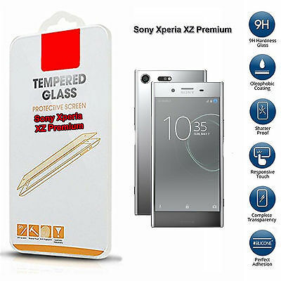 Sony Xperia Xz Premium Tempered Glass Screen Protector (Only For This Phone)