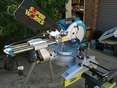 Makita Sliding Compound Mitre Saw With Stand Model Ls 1017L Powertools