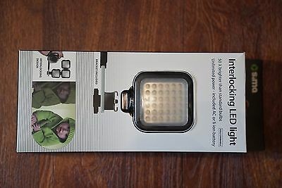 Sima SL-100LX Rechargeable Lithium LED Video Light Dimmable NEW