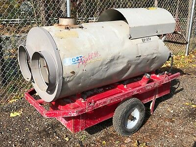 Frost Fighter Ohv-350Ii 320,000 Btu Indirect Fired Wagon Construction Heater