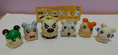 Full Set Retired Rare HAMTARO HAMSTER finger puppets
