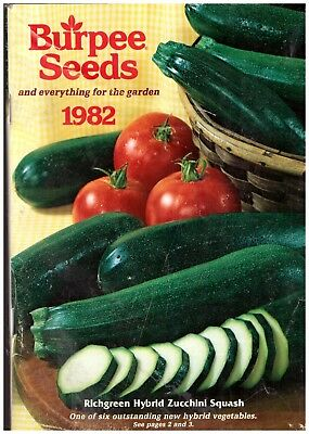 Burpee seed Garden catalogue 1982