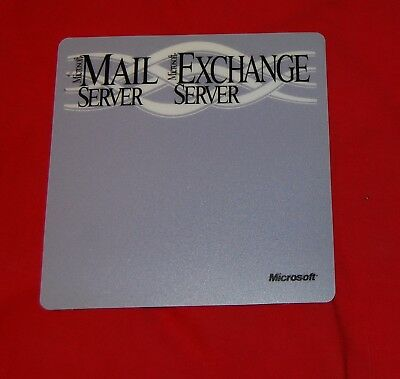 VINTAGE Computer Advertising MOUSE PAD Microsoft Mail Server