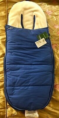 NEW L.L.Bean Snow Bunting for Stroller or Sled, Ultraplush