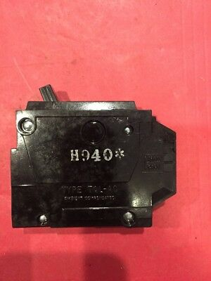6 GE GENERAL ELECTRIC THQL1120 Circuit Breaker Single Pole 20 Amp 20A 1 Pole NOS