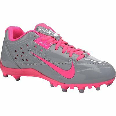 Women's Nike Speed Lax 4 Lacrosse Cleats  Stealth/pink Flash  Size 6