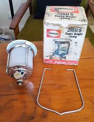 Vintage Primus Super Bright Gas Lamp 2150S With Box. For Picnic, BBQ, Camping