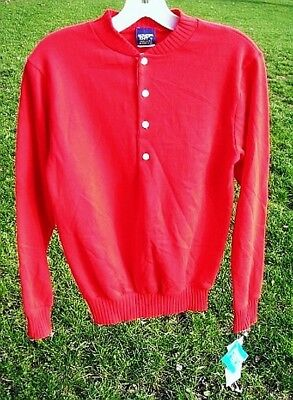 Indy Knit Sweatshirt Fleece Red ½ Button-Youth/Boys Pullover Greenfield Indiana