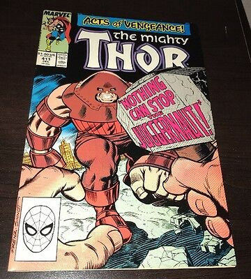 Thor #411 HIGHER GRADE 1st Cameo Appearance New Warriors Freeform TV Show Soon