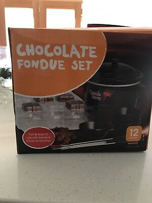 Electric Chocolate Fondue Set