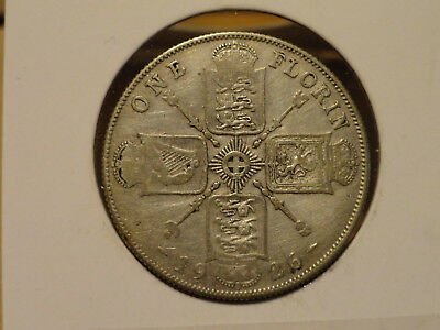 1926 UK Florin (2 Shillings) - Silver - George V (Great Britain)