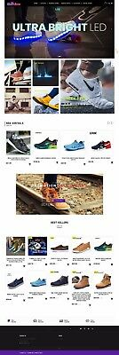Shopify Store/Website Fully Loaded, dropshipping shoe store