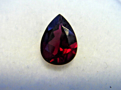 Rhodolite Garnet Gemstone Pear Cut 10 mm x 7 mm 2.50 carat faceted natural Gem