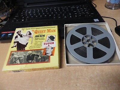 VINTAGE THE QUIET MAN, john wayne, vintage REPUBLIC SUPER 8 HOME FILM