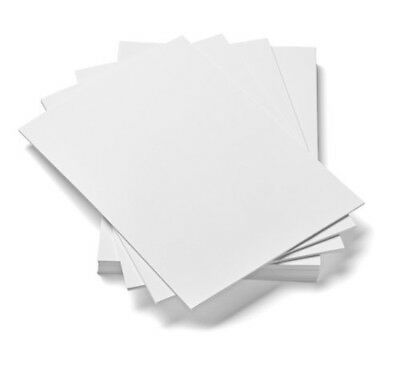 HCP CARD A4 250 gsm Card White Pack of 100 Sheets Office School Paper Products