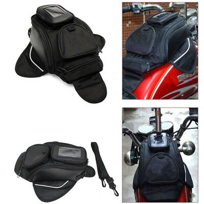 Universal Magnetic Motorcycle Oil Fuel Tank Waterproof Shoulder Sling Bag