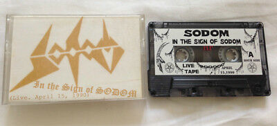 Sodom - in the Sign of ... 1990  MC Tape  Kreator Celtic Frost Slayer Hellhammer