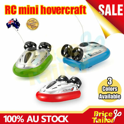 OZ Mini RC Hovercraft Radio Remote Control Speed Hover Boat Airboard Watercraft