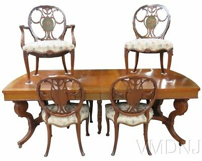 VMD666-Irwin Centennial Adams Style Table & 6 Chairs