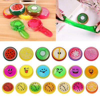 Kids Children Non-Toxic Crystal Clay Funny Slime Toy Playdough Party Big Fillers