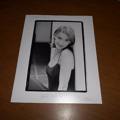 Allison Smith, actress Kate & Allie Hand Signed Photo