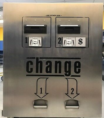 Standard Change Maker Sc34Rl Bill-To-Coin Machine Rear Load With Dual Hoppers!