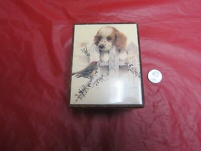 Vintage  Wooden Reuge Music Box=Talk To The Animals = Swiss Movement=  NR
