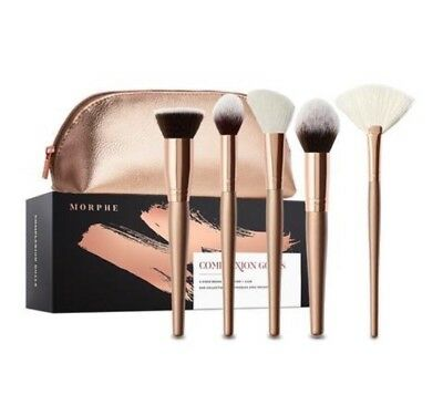 Morphe - Complexion Goals Limited Edition 5 Piece Brush Set 100% GENUINE!